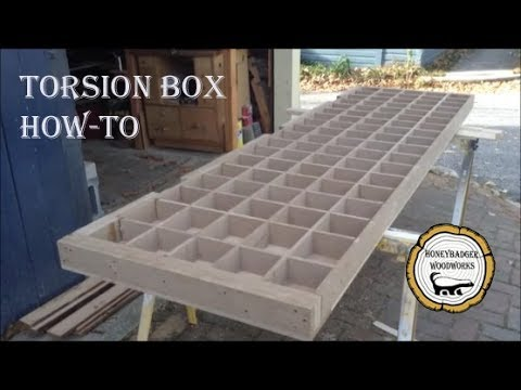 Woodworking: Torsion Box Table // How-To Part 1
