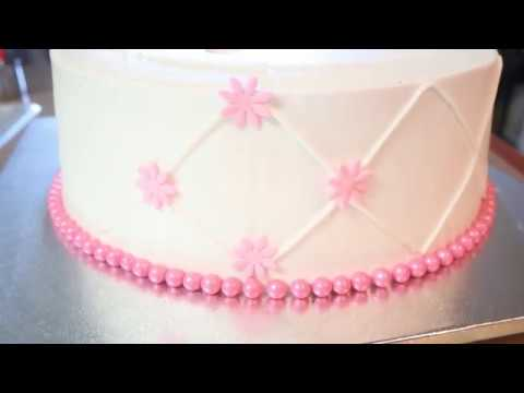 Baby Shower Cake for Girl | Baby Shower Party Ideas| DIY & How to | Delivering a Cake