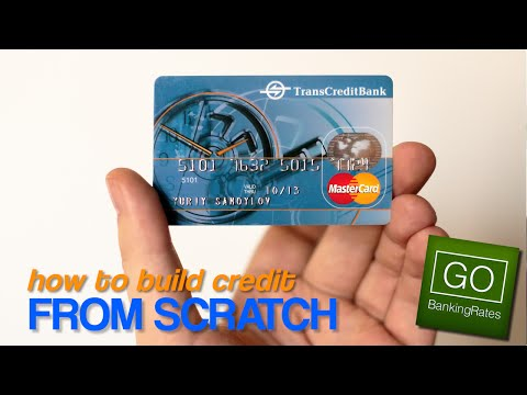 How to Build Credit With No Credit History