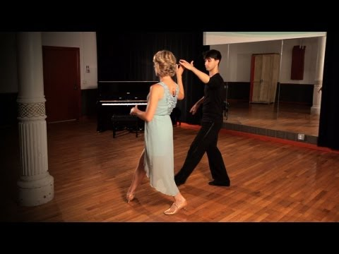 How to Do a Waltz Ladies Underarm Turn | Ballroom Dance
