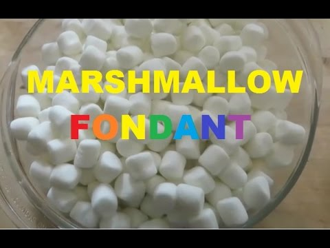Homemade Marshmallow Fondant Tasty & Easy Recipe Tutorial