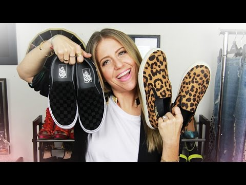 How to Wear Slip-On Sneakers!