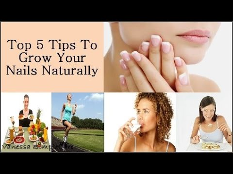 How To Make Your Nails Grow Naturally: Top 5 Tips To Grow Your Nails