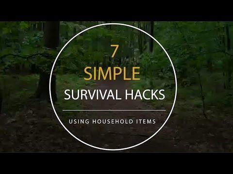 7 Simple Survival Hacks Using Household Items