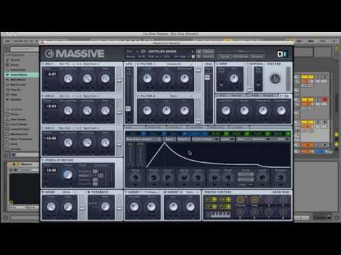 Deep House FM Bass Massive Tutorial