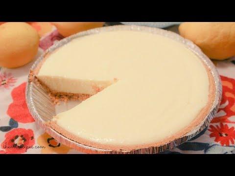 No Bake Lemon Cheesecake - How to make - I Heart Recipes