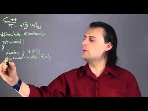 How to Get Numbers to Specific Decimal Places in C++ : Physics & Calculus Lessons
