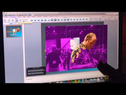 CES - Microsoft Office for Mac 2011 - PowerPoint How to remove image background