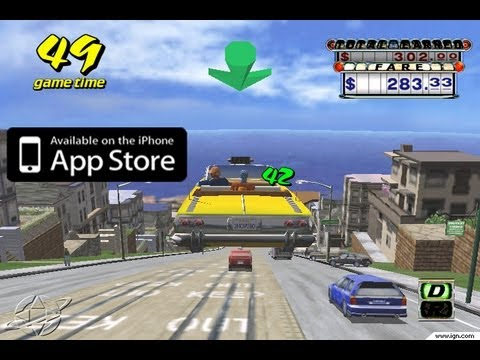 Crazy Taxi GAMEPLAY iPhone iPod Touch iPad