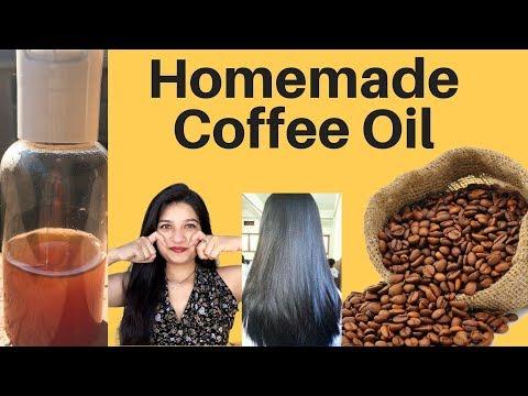 Homemade coffee oil in Hindi | Coffee oil for skin & hair growth | Anti aging coffee oil | AVNI