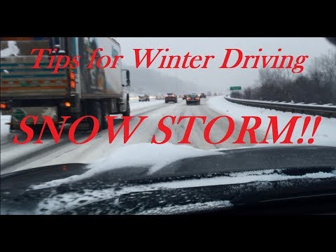 Tips for Driving in the Snow - Highway Driving Safety