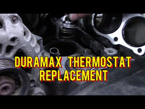 Mechanics Minute Ep 3. -  Duramax Thermostat Replacement