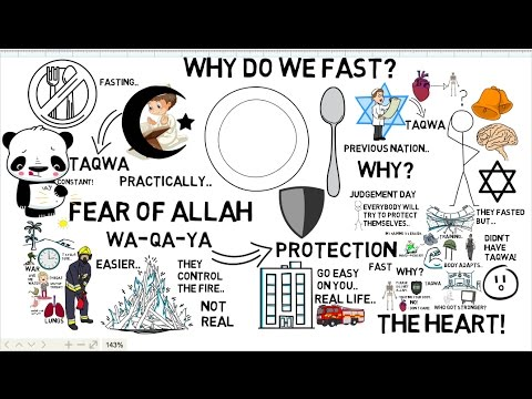 HOW TO INCREASE TAQWA BY FASTING - Nouman Ali Khan Animated