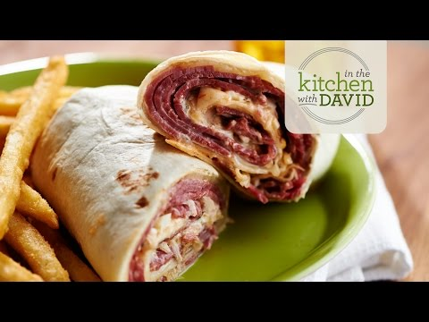 How to Make a Reuben Wrap
