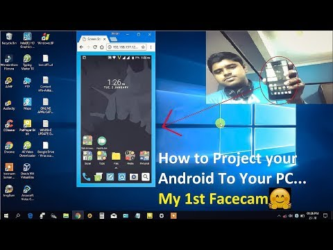 How to Cast Your Android Screen To PC Easily [No app Needed] |My First Facecam