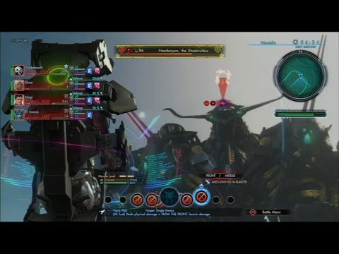 Xenoblade Chronicles X - Getting destroyed by Nardacyon