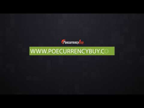 PoeCurrencyBuy.com Is The best place to buy poe currency