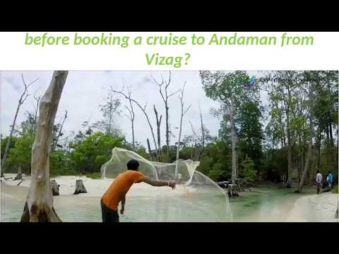 What are the important factors to consider before booking a cruise to Andaman from Vizag?