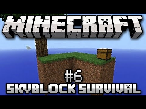 Minecraft: SkyBlock Survival Ep. 6 - Where's the Seed?