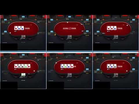 Global Poker Run it Up Episode 3 10nl 6-Max Cash Game