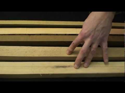 How to Make a longbow - Wood Selection -