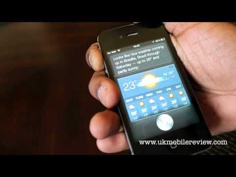 Apple iPhone 4S - iOS 6 Siri Demo