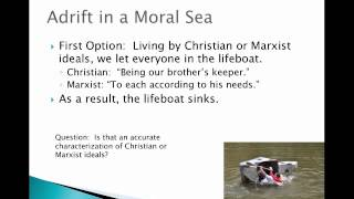 lifeboat ethics the case against helping the poor summary