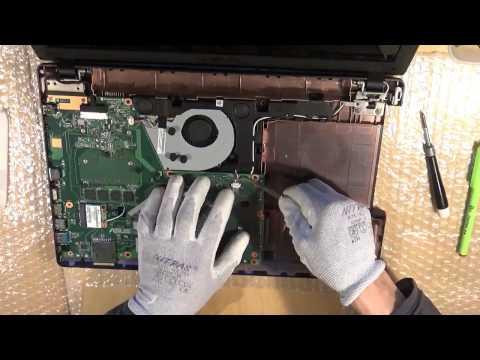 Asus R512C (X551) Series disassembly   zerlegen   reparar