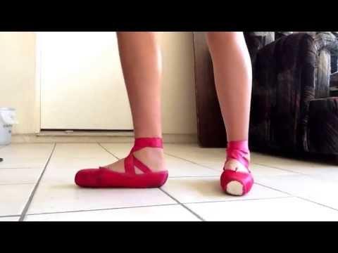 Red Pointe Shoes : Grishko Maya's