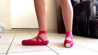 Red Pointe Shoes : Grishko Maya