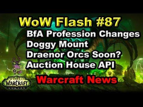 More BfA Alpha Changes, Shu-zen Mount News, Auction House API | WoW Flash #87
