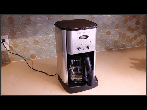 Cuisinart Coffee Maker Self Clean Feature
