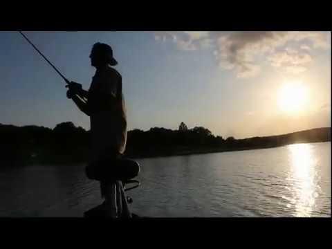 Bass Boat Test Drive Canyon Lk TX