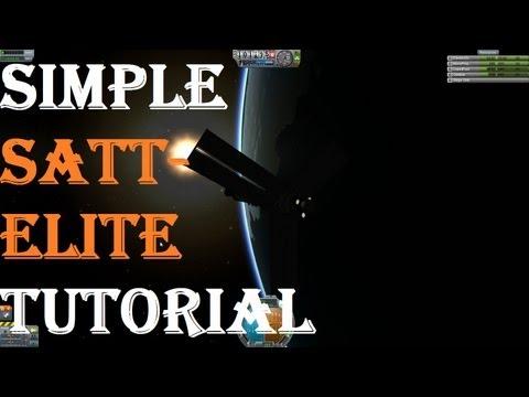 Kerbal Space Program - Simple Satellite Tutorial