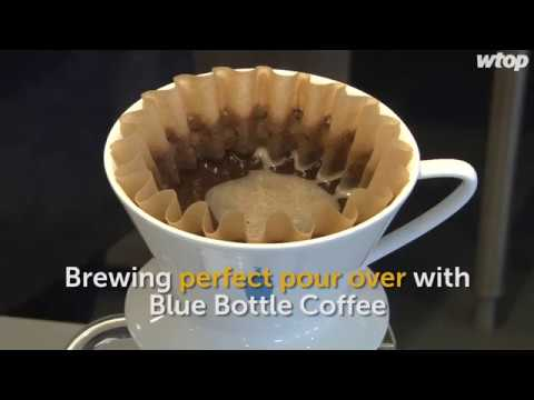 Brewing perfect pour over with Blue Bottle Coffee