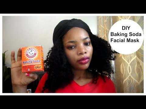 How To Make A Baking Soda Facial Mask | DIY Baking Soda Facial Mask For Acne & Other Breakouts