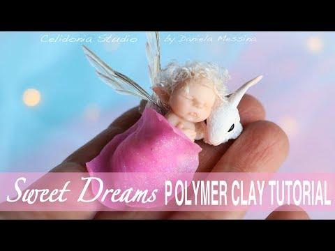 Fairy and Bunny Polymer Clay Tutorial