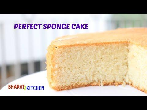 Basic Vanilla Sponge Cake Recipe | Chiffon Cake | Simple Vanilla Cake |Dessert Recipe Bharatzkitchen