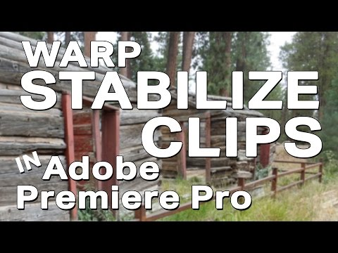 How to Stabilize a Clip in Premiere Pro