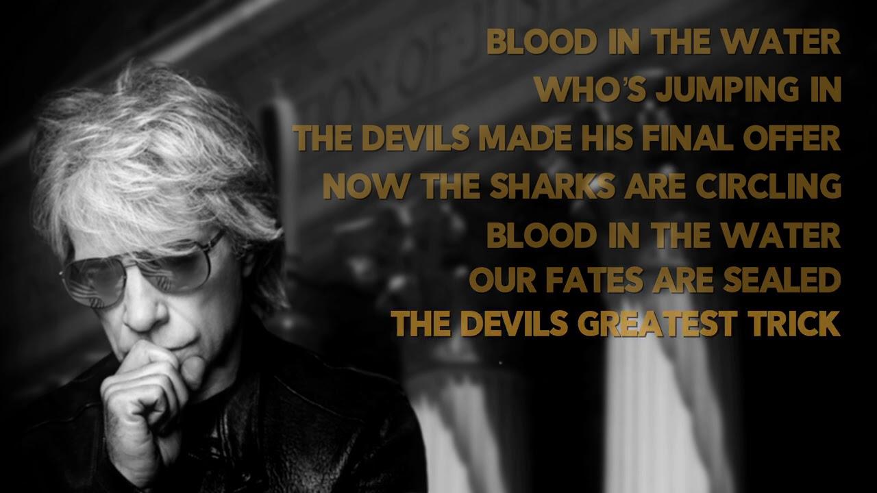 Bon Jovi- Blood In The Water