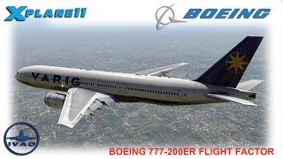 X-Plane 10] Manchester (EGCC) to New York (KJFK) | FF 777 - The Most