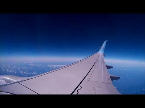 Thomson 737-800 full flight East Midlands to tenerife South