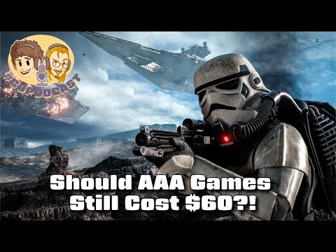 Should AAA Games Still Cost $60? - #CUPodcast