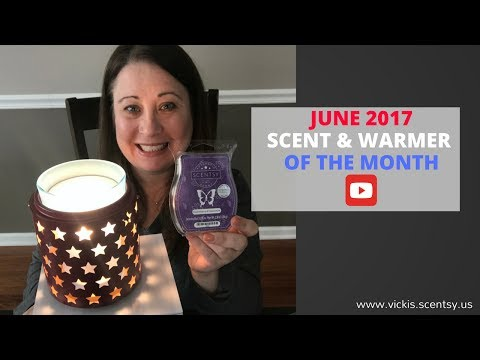 Scentsy Warmer & Scent of The Month June 2017