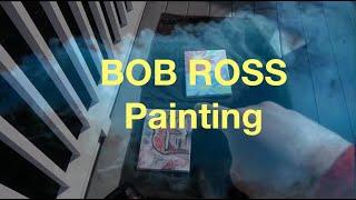 Bob Ross - Oil Painting Tutorial