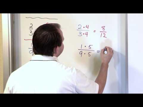 Renaming Fractions - 5th Grade Math