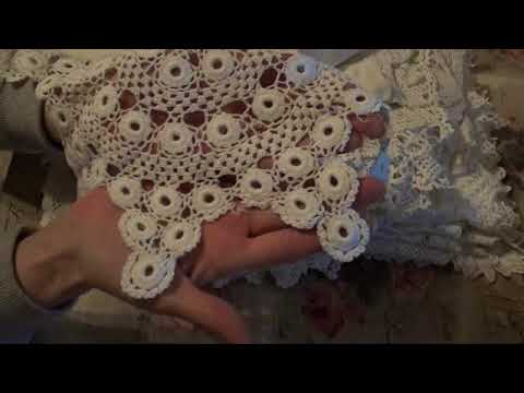 Paper Haul, Doilies, Fairy Lanterns and Shabby Flowers