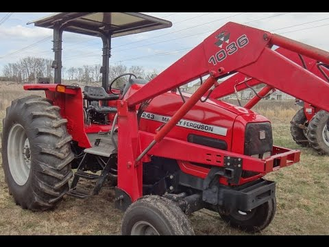 4243 Massey Ferguson Diesel Tractor w/ Loader coming for sale in TN $18,800