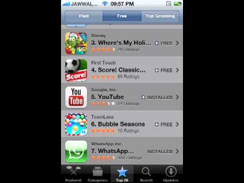 How to Download apps from app store in iphone 4s