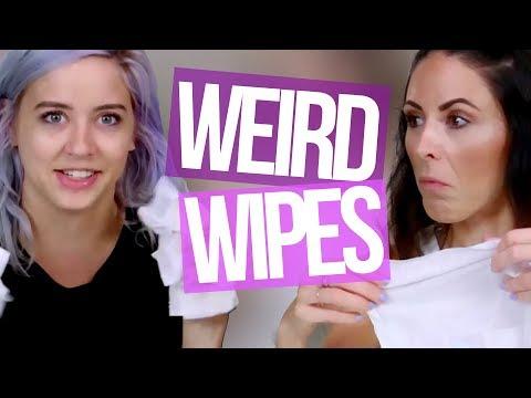 8 Weird Wipes (Beauty Break)